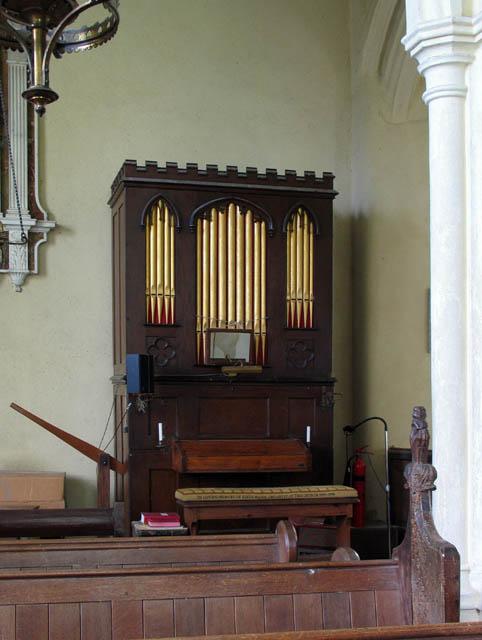 St Michael & All Angels, Barton Turf, Norfolk - Organ