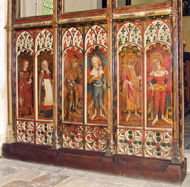 St Michael & All Angels, Barton Turf, Norfolk - Screen