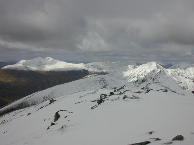 The north ridge of A' Chralaig