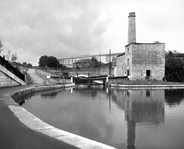 Widcombe Lock No 7, Kennet and Avon Canal, Bath