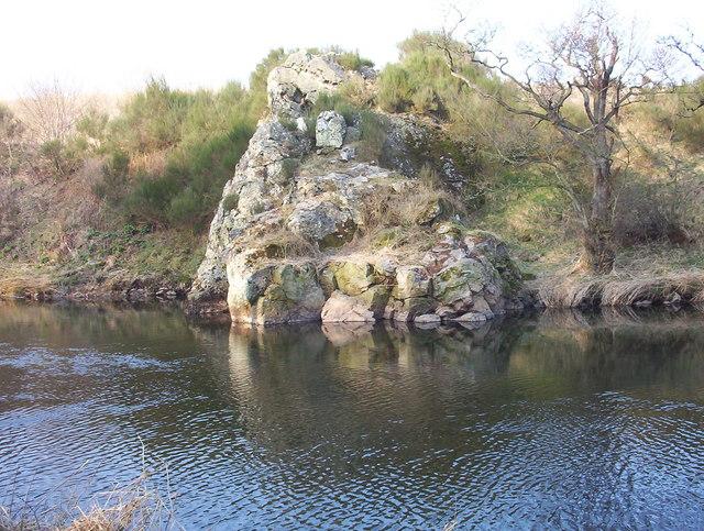 Babby Duthie's Rock, Ravenscraig.