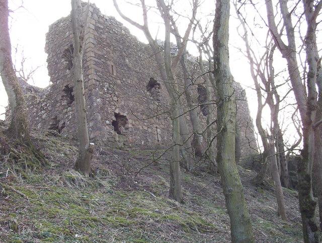 Ruins of Ravenscraig Castle