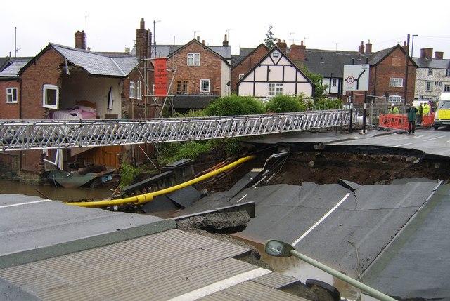 Ludlow Burway Bridge collapse