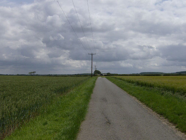 Track to Grange Wold Farm