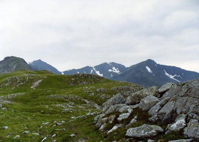 Beinn Fhada Ridge.