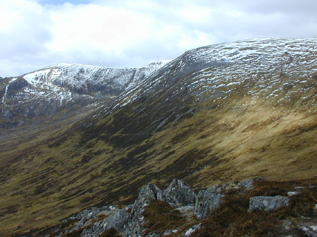 South western slopes of Creag a' Chaorain