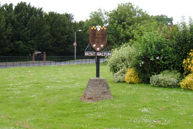 West Walton village sign