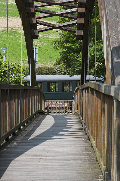 Footbridge over Afon Banwy