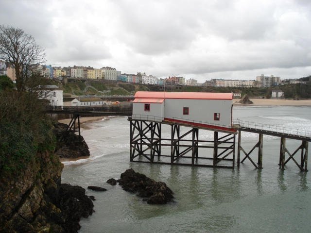 Tenby old lifeboat station