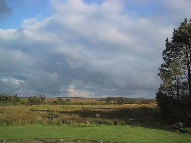 From Lagafater Lodge: wood and moorland to the south east