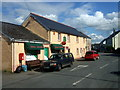SN2038 : Central Boncath: shop and post office by ceridwen