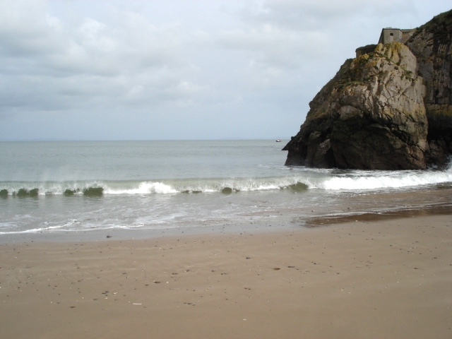 Beach at St Catherine's Island