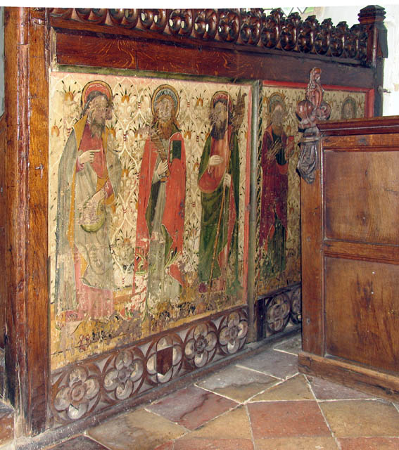 St Michael, Irstead, Norfolk - Screen