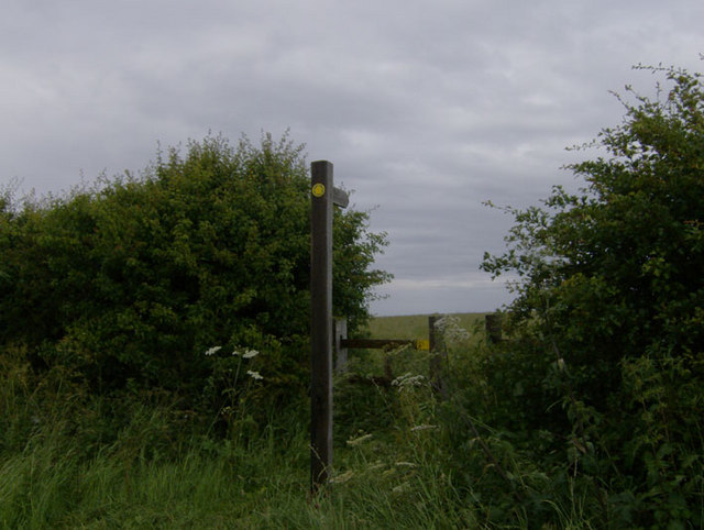 Footpath to Wold Newton