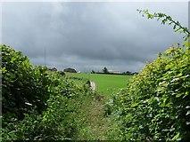 ST0176 : Germonds Farm, Nr Caercady by Kev Griffin