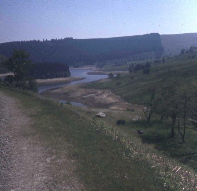 Upper reaches of Pen-y-garreg Reservoir