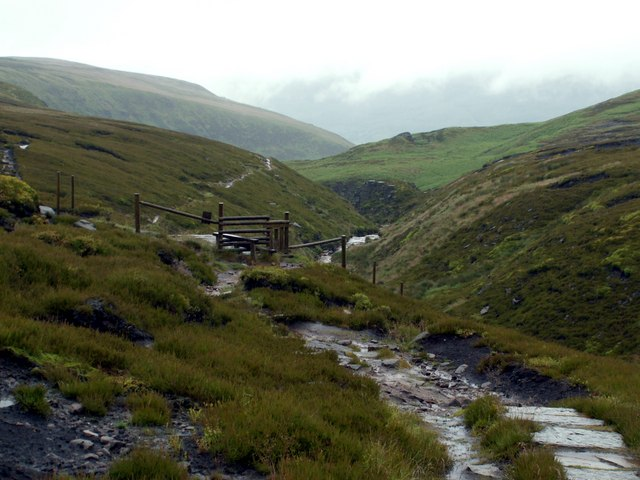 The Pennine Way in June 07