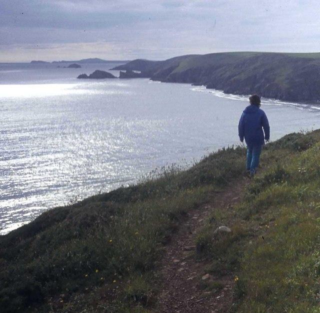 Pembrokeshire Coast Path from Newgale to Solva