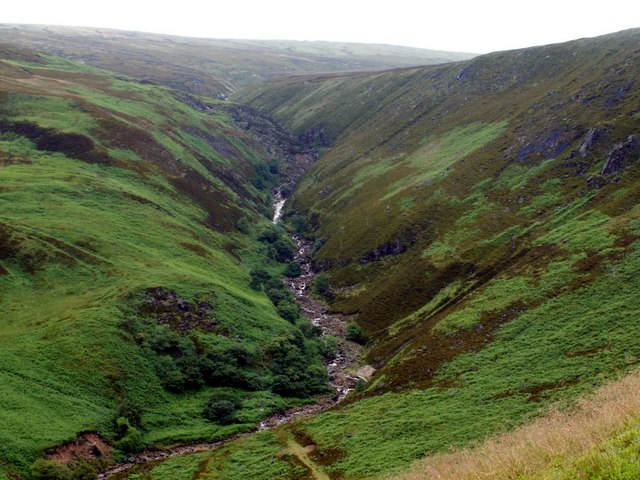 Torside Clough in June 07