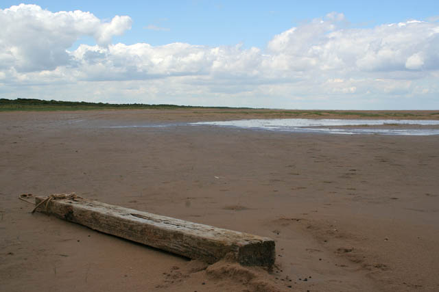 Low tide at Saltfleetby-Theddlethorpe Dunes