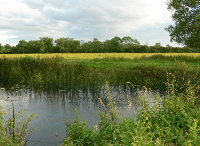 River Soar and pasture land