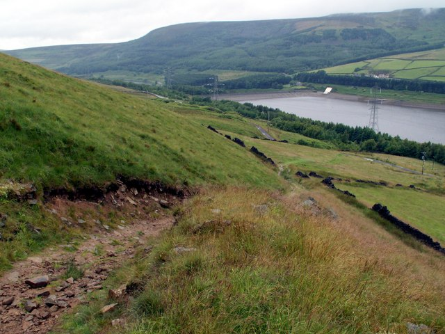 The Pennine Way to Torside.