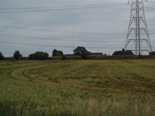 View to Northmoor Farm