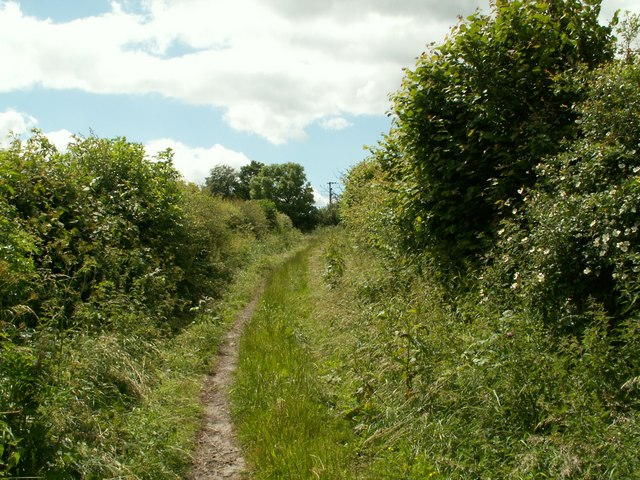 Bridleway to Barnby Furnace