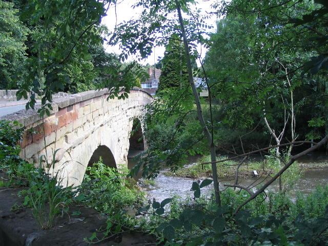 Bridge over the river Sowe, Baginton