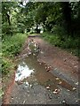 SE2907 : Flood damage on Silkstone Wagon Way. by John Fielding