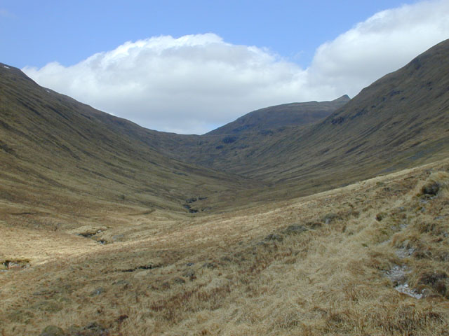The glen of An Caorann Beag