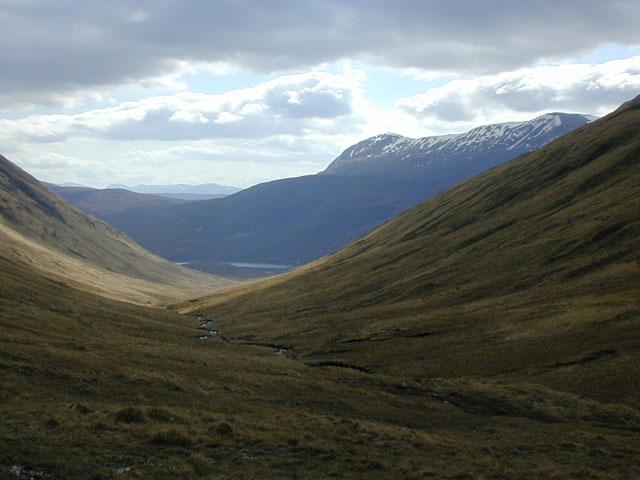 The western slopes of An Caorann Beag