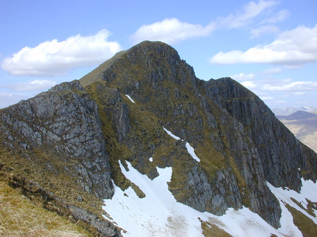 The summit of Ciste Dhubh