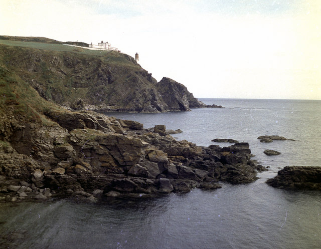 Maughold Head and lighthouse