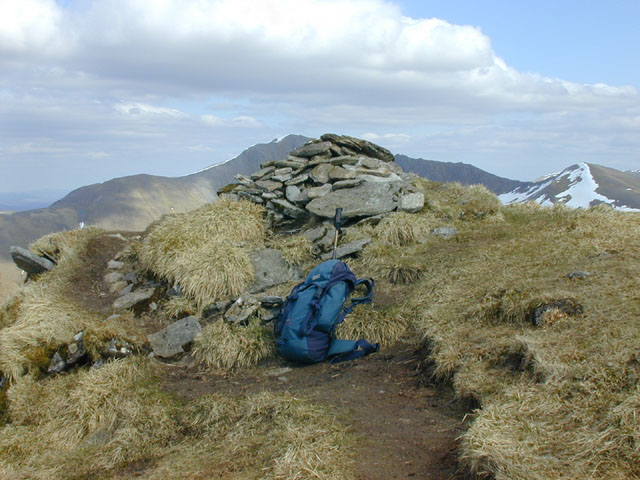 Summit cairn of Ciste Dhubh