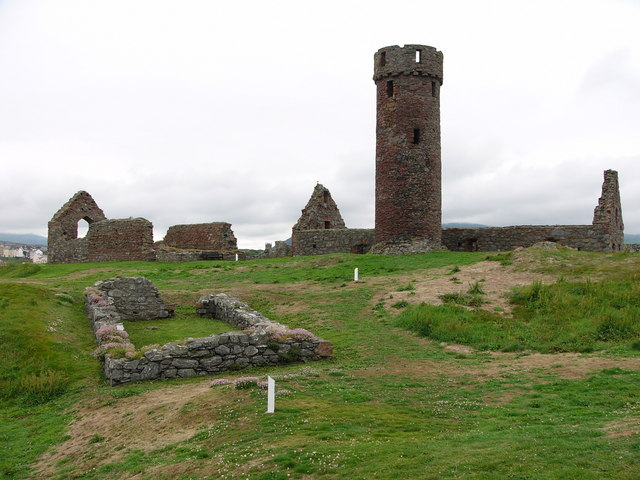 The round tower, Peel Castle