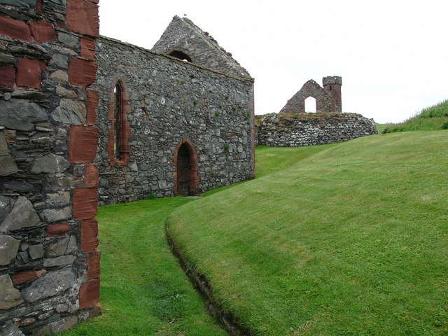 Peel Castle and St German's Cathedral
