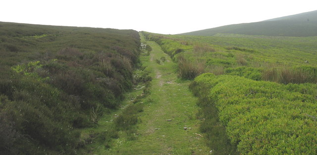 The north-south path from the Dee to the Ceiriog valleys