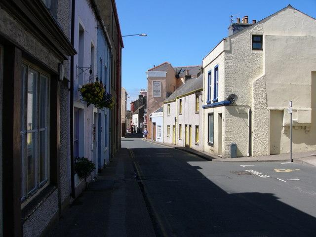 Peel street scene