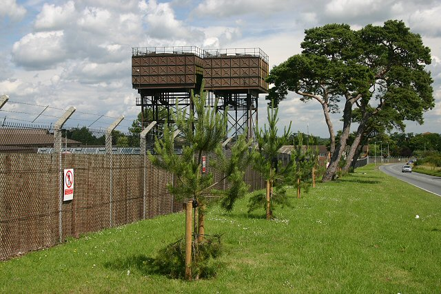 Water towers, RAF Lakenheath