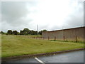 NS4634 : Prison wall of HMP Kilmarnock by Darrin Antrobus