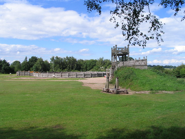 Roman fort at The Lunt, Baginton