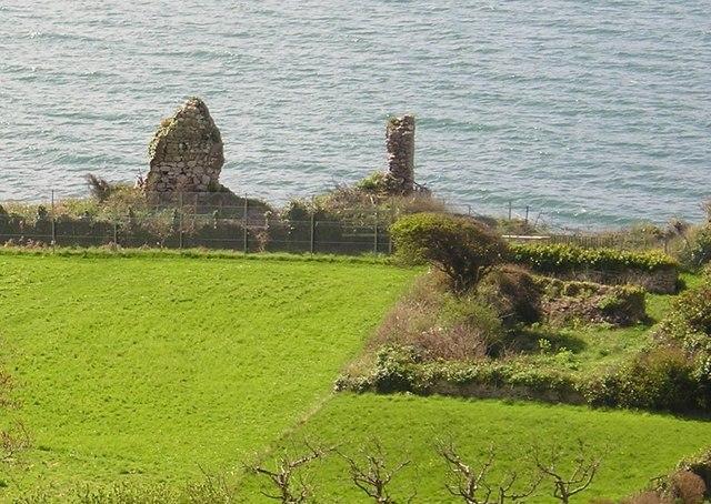 Llandudno - Bishop of Bangor's Palace Ruins 2004