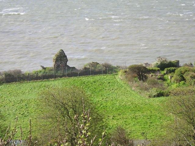 Llandudno - Bishop of Bangor's Palace Ruins 2005