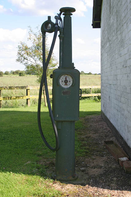 Old fuel pump at Gayton Engine Pumping Station