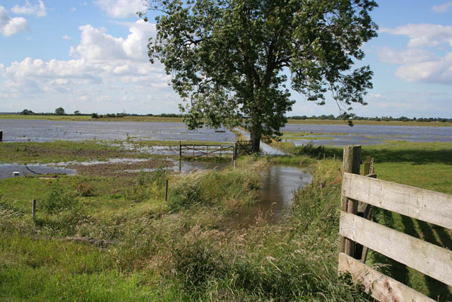 Flooding at Dowsey Fen