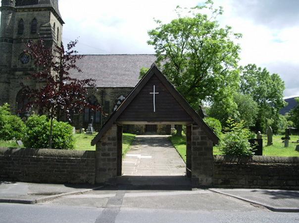 Lychgate, St James' Church, Millbrook