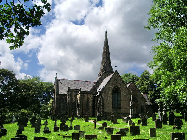 Christ Church, Frizeland, Grasscroft