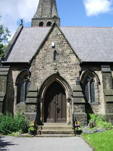 Porch, Christ Church, Frizeland, Grasscroft