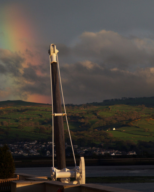 Rainbow from The Quay Hotel.